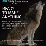 "My image ""Howling"" featured on Autodesk website"