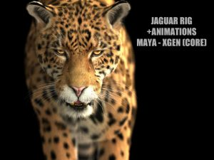 Jaguar ANIMATED (Xgen-core)